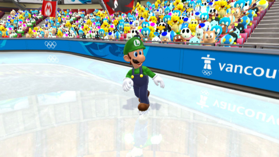 Mario & Sonic at the Olympic Winter Games Review - Screenshot 2 of 7