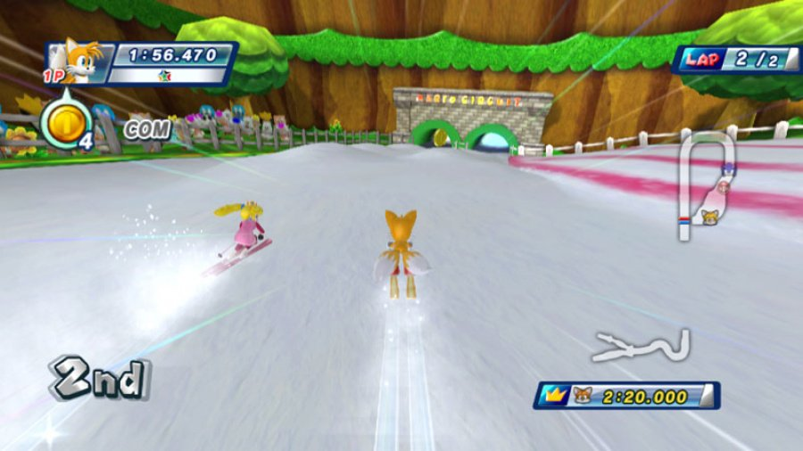 Mario & Sonic at the Olympic Winter Games Review - Screenshot 1 of 6