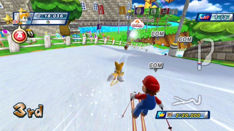 Mario & Sonic at the Olympic Winter Games Review - Screenshot 3 of 7