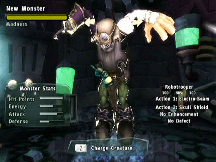 Monster Lab Review - Screenshot 1 of 7