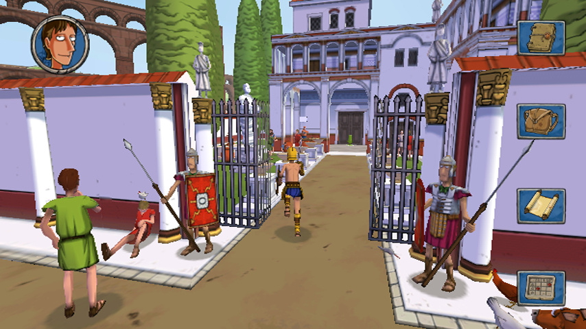 Horrible Histories: Ruthless Romans Screenshot