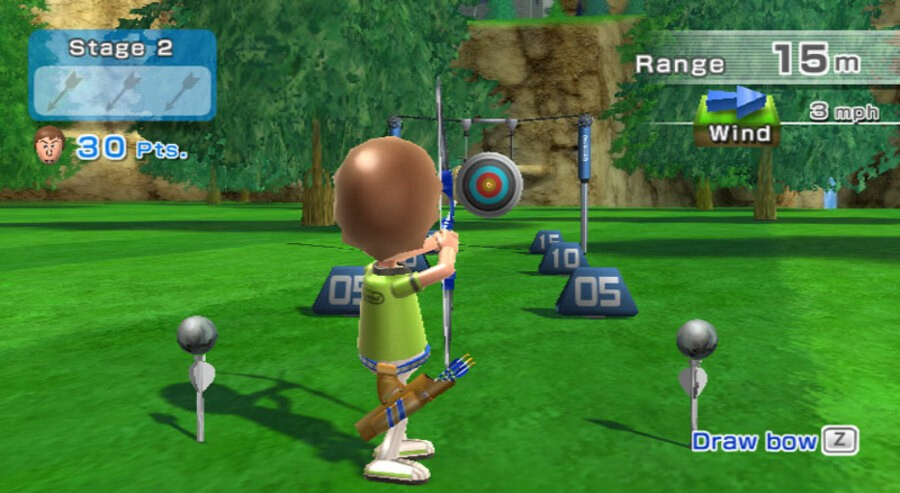 Wii Sports Resort Screenshot