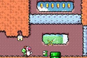 Super Mario World 2: Yoshi's Island Screenshot
