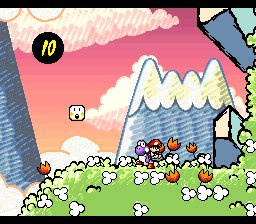 Super Mario World 2: Yoshi's Island Screenshot