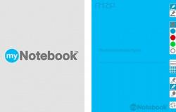 myNotebook Screenshot