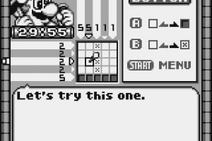 Mario's Picross Screenshot