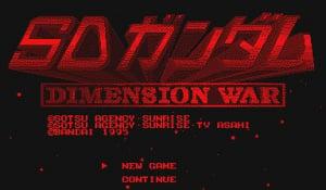SD Gundam Dimension War Review - Screenshot 4 of 5