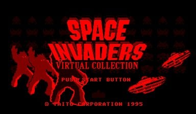 Space Invaders: Virtual Collection Screenshot
