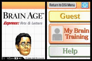 Brain Age Express: Arts & Letters Review - Screenshot 4 of 4