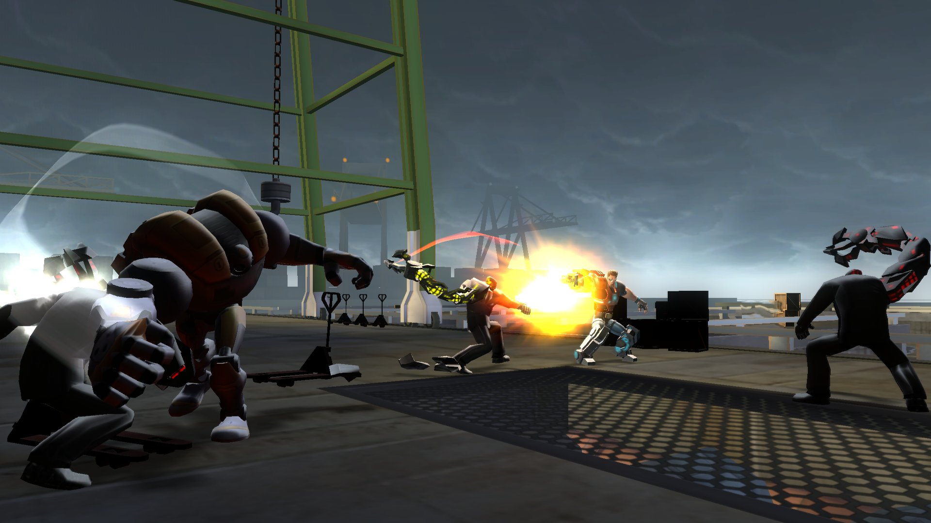 Spyborgs Screenshot
