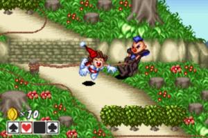 Kid Klown in Crazy Chase Screenshot
