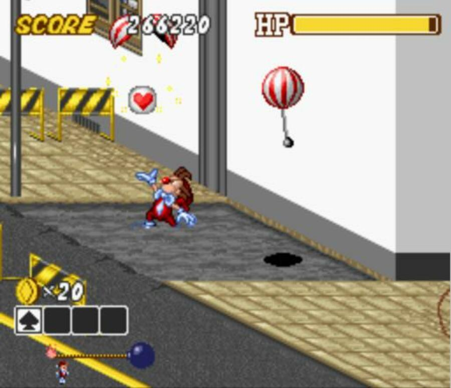 Kid Klown in Crazy Chase Screenshot