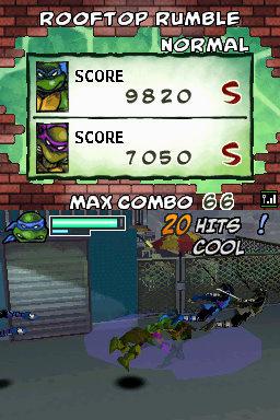 Teenage Mutant Ninja Turtles: Arcade Attack Screenshot