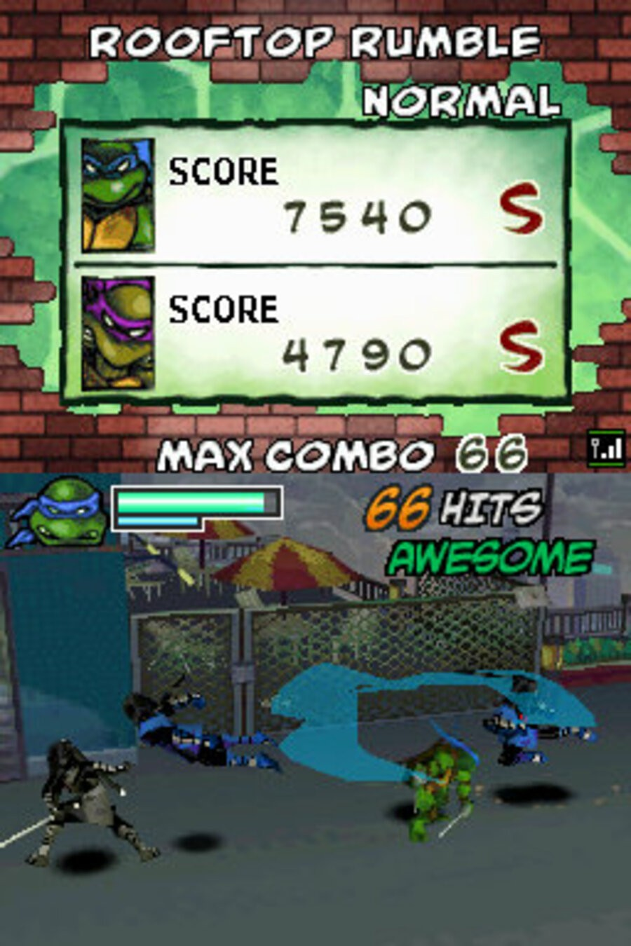 Teenage Mutant Ninja Turtles: Arcade Attack Screenshot