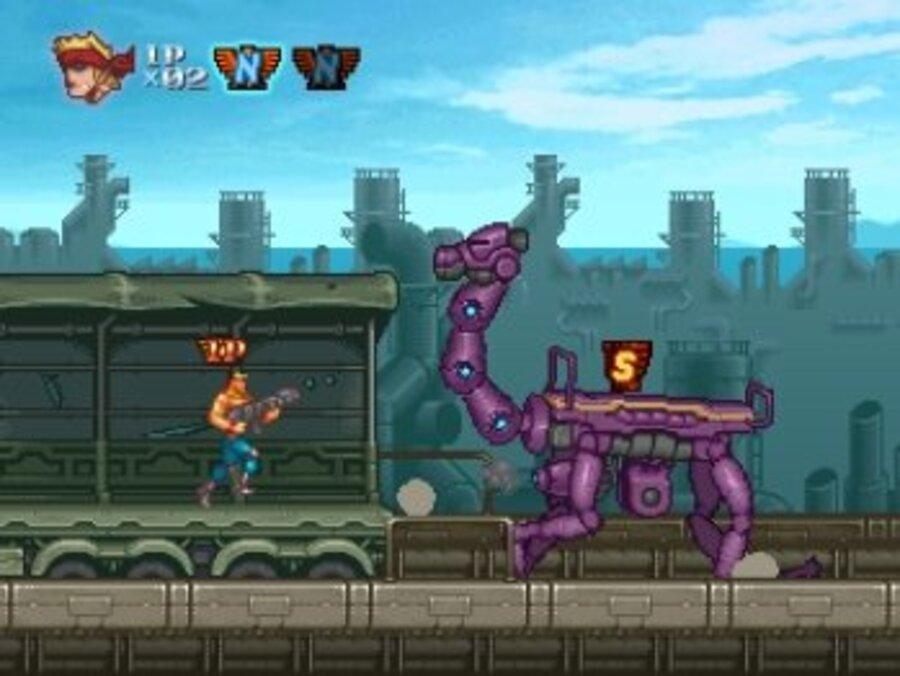 Contra ReBirth Screenshot