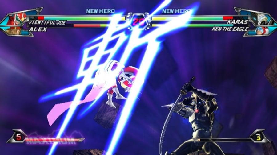 Tatsunoko vs. Capcom: Ultimate All-Stars Review - Screenshot 1 of 6
