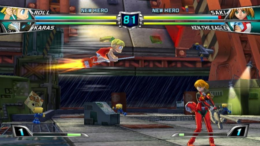 Tatsunoko vs. Capcom: Ultimate All-Stars Review - Screenshot 2 of 6