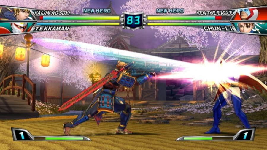 Tatsunoko vs. Capcom: Ultimate All-Stars Review - Screenshot 3 of 6