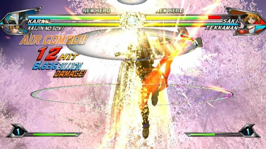 Tatsunoko vs. Capcom: Ultimate All-Stars Screenshot
