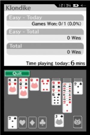 2-in-1 Solitaire Review - Screenshot 1 of 2