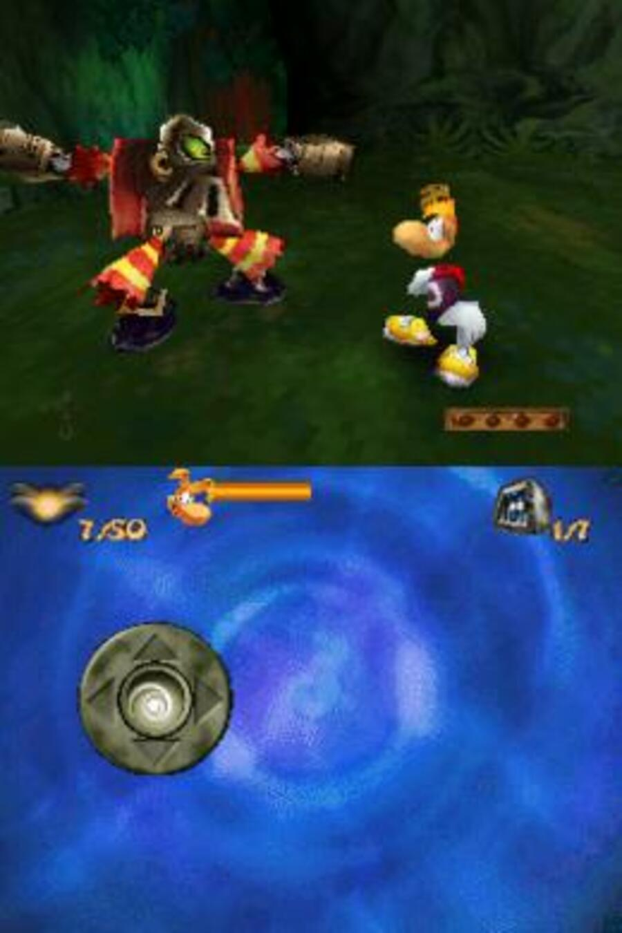 Rayman DS Screenshot