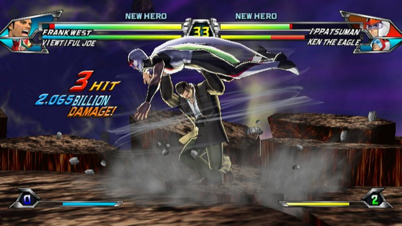 Tatsunoko vs  Capcom: Ultimate All-Stars (Wii) Game Profile