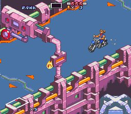 Biker Mice From Mars Screenshot