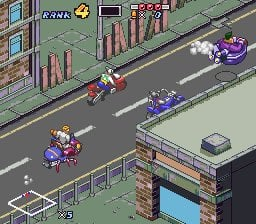 Biker Mice From Mars Screenshot