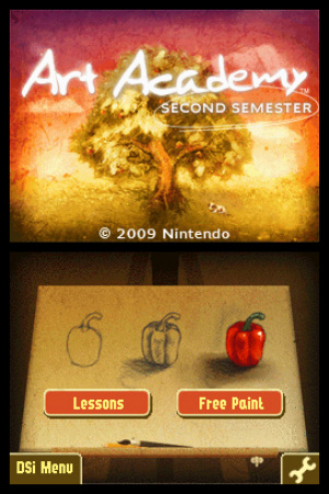 Art Academy: Second Semester Review - Screenshot 2 of 3