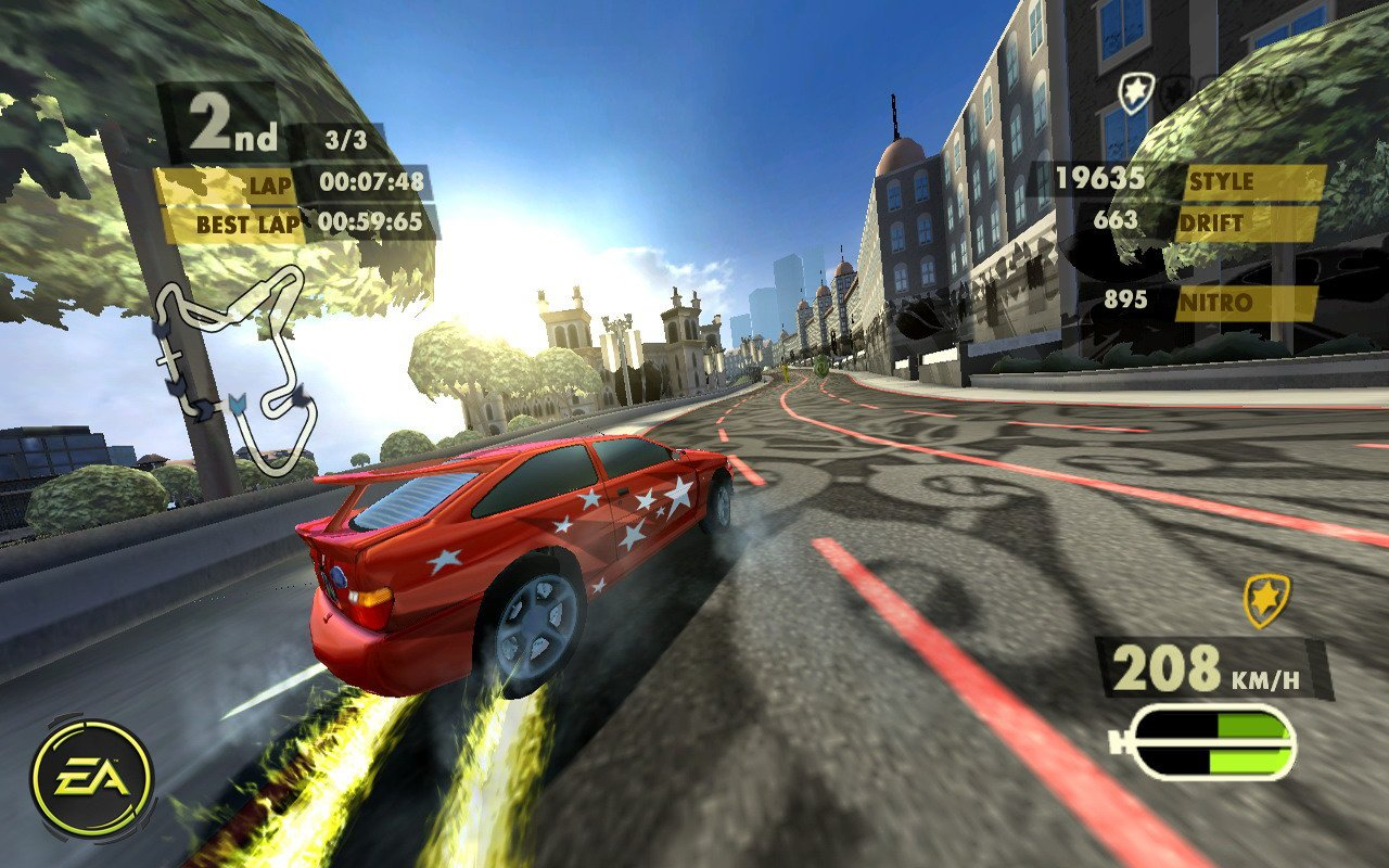 need for speed nitro review wii nintendo life. Black Bedroom Furniture Sets. Home Design Ideas