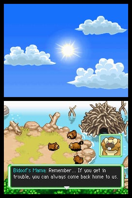 Pokémon Mystery Dungeon: Explorers of Sky Screenshot