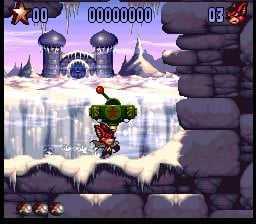 Aero the Acrobat 2 Screenshot