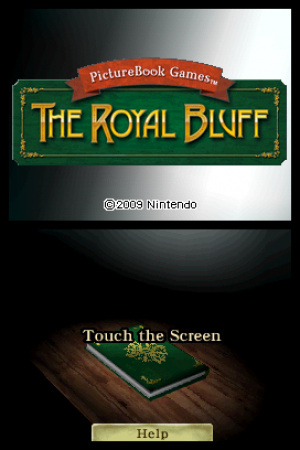 PictureBook Games: The Royal Bluff Review - Screenshot 1 of 2