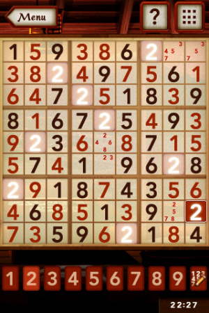 Sudoku Review - Screenshot 3 of 4