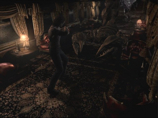 Resident Evil Zero Screenshot