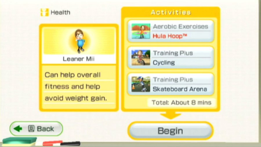 Wii Fit Plus Review - Screenshot 3 of 5