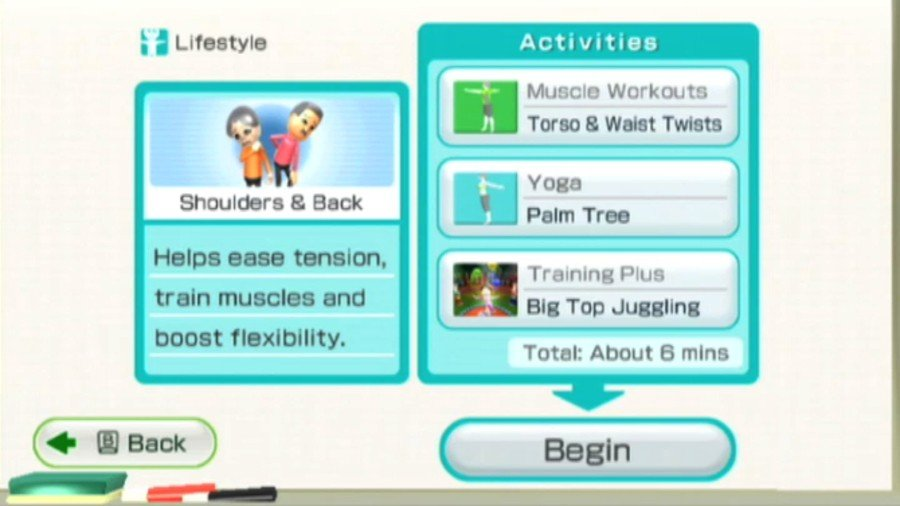 Wii Fit Plus Screenshot