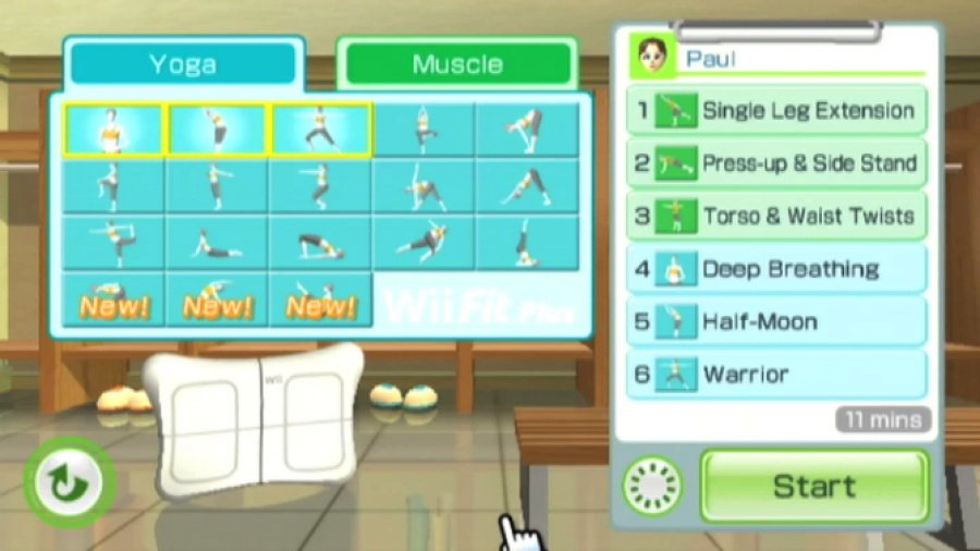 Wii Fit Plus Review - Screenshot 2 of 5