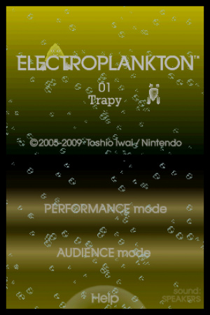 Electroplankton Trapy Review - Screenshot 1 of 2