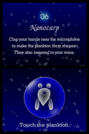 Electroplankton Nanocarp Review - Screenshot 2 of 2