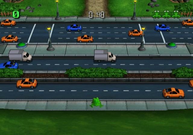 Frogger Returns Screenshot