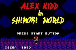 Alex Kidd in Shinobi World Screenshot