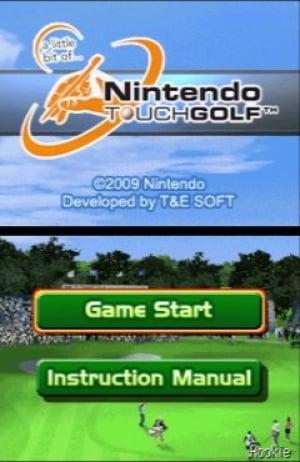 A Little Bit of... Nintendo Touch Golf Review - Screenshot 2 of 4