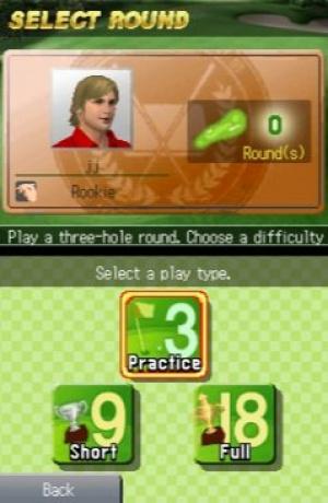A Little Bit of... Nintendo Touch Golf Review - Screenshot 2 of 3