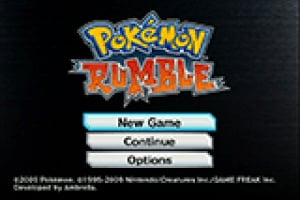 Pokémon Rumble Screenshot