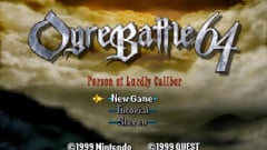 Ogre Battle 64: Person of Lordly Caliber Screenshot