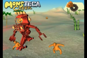 A Monsteca Corral: Monsters vs. Robots Screenshot