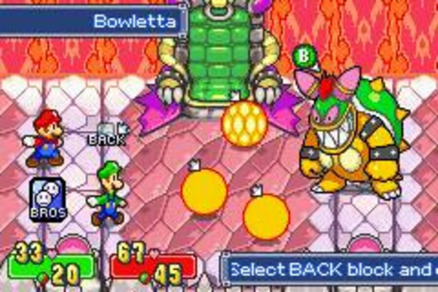Mario & Luigi: Superstar Saga Screenshot