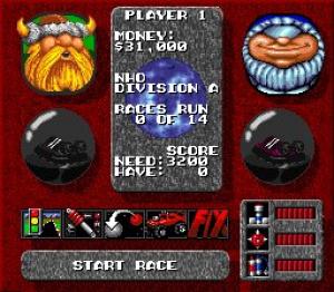 Rock n' Roll Racing Review - Screenshot 3 of 3