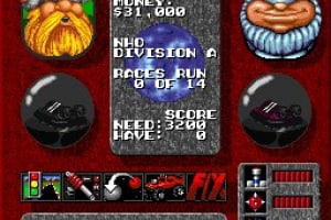 Rock n' Roll Racing Screenshot